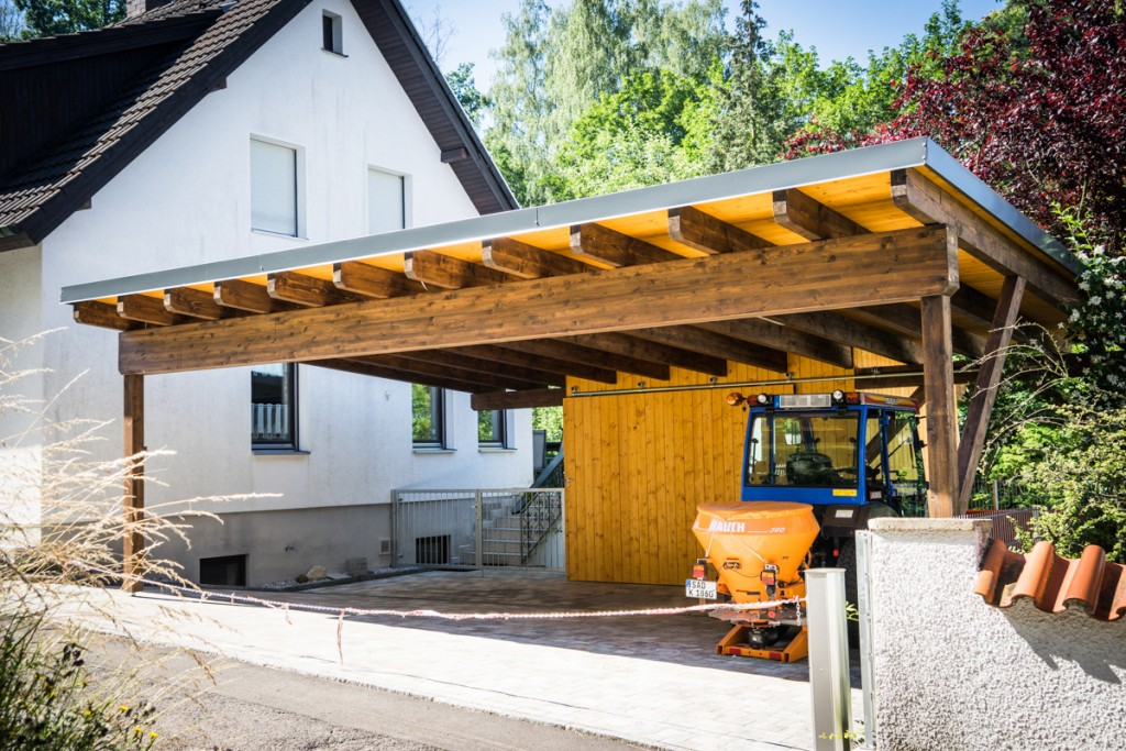 carport am haus carport garage kombination luxus carport am haus cool carport am haus with. Black Bedroom Furniture Sets. Home Design Ideas